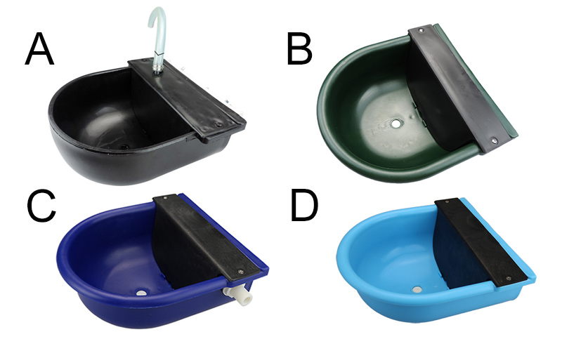 Cattle water drinking bowls