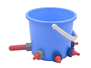plastic calf feeding bucket