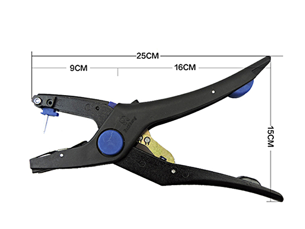 Ear Tag Applicator Plier Veterinary Tool with 1 Pin for Animal Cow Sheep